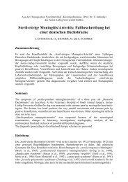 Steril-eitrige Meningitis/Arteritis - Tierärztliche Klinik für Kleintiere ...