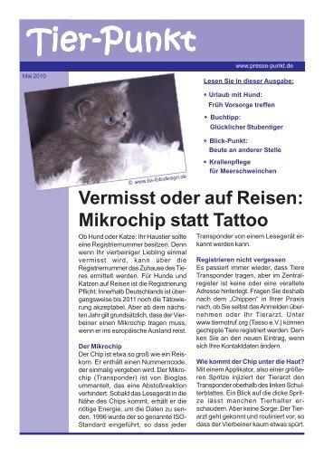 Mai 2010 - Kleintierpraxis Kuntze