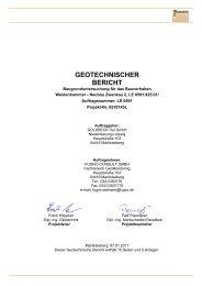 geotechnischer bericht - Ingenieurbüro Klemm & Hensen GmbH