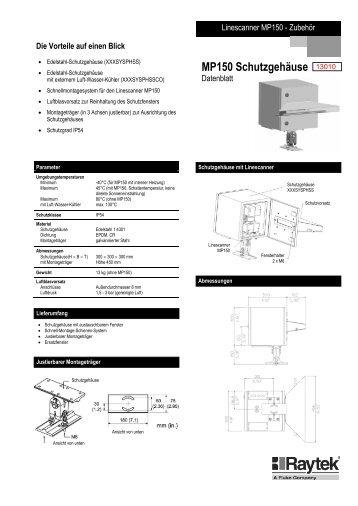 MP150 Schutzgehäuse
