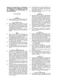 Gestaltungssatzung - Innenstadt ( PDF , 102,07 KB groß) - in Kleve