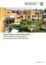 Neues Wohnen mit Nachbarschaft - Nordrhein-Westfalen direkt