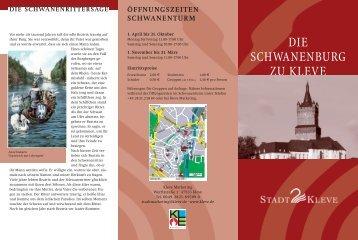 DIE SCHWANENBURG ZU KLEVE - in Kleve