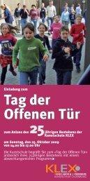 Tag der Offenen Tür - KLEX Kunstschule Oldenburg
