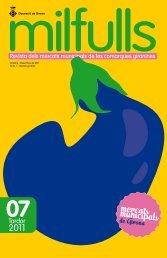 Setè exemplar revista Milfulls - Diputació de Girona