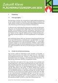 Fachbeitrag Binnenentwicklung (Vorentwurf) Zukunft Kleve - in Kleve - Seite 5