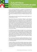Fachbeitrag Binnenentwicklung (Vorentwurf) Zukunft Kleve - in Kleve - Seite 6