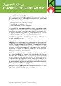 Fachbeitrag Binnenentwicklung (Vorentwurf) Zukunft Kleve - in Kleve - Seite 7