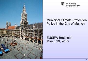 Matthias Sinn, Environment and Health ... - Climate Alliance