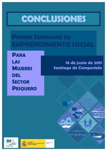 Conclusiones Primer Seminario de Emprendimiento Social Para las