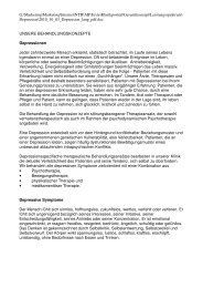 Depression, PDF-Version, 1 MB - Klinik Alpenblick