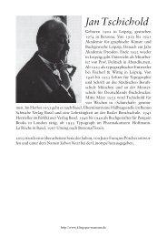 Lebensdaten und seine Schriften als PDF - Klingspor Museum