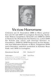 Victor Hammer (DEU) - Klingspor Museum