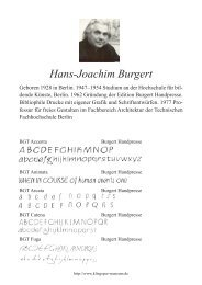 Hans-Joachim Burgert - Klingspor Museum