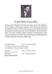 Carl Otto Czeschka - Klingspor Museum