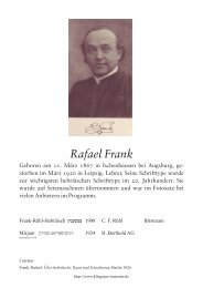 Rafael Frank (DEU) - Klingspor Museum