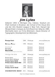 Jim Lyles - Klingspor Museum
