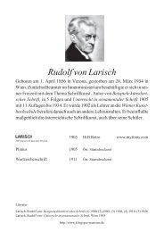 Rudolf von Larisch (AUT) - Klingspor Museum