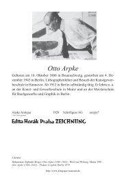Otto Arpke (DEU) - Klingspor Museum