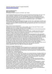 """Zeitschrift """"Gesundheit in Sachsen"""" Ausgabe Herbst ... - Klinik Bavaria"""