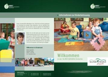 Infos zur Kinderbetreuung - Klinik Bavaria