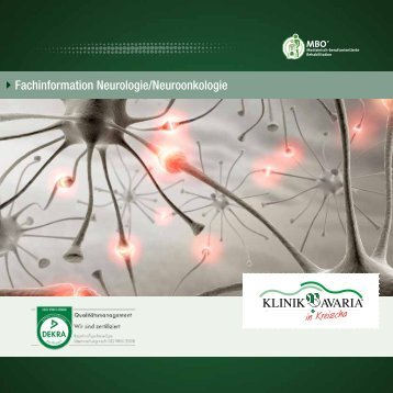 Fachinformation Neurologie/Neuroonkologie - Klinik Bavaria