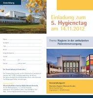 5. Hygienetag - Klinik Bavaria