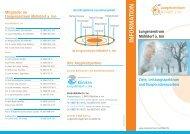 Info-Flyer Lungenzentrum - Kliniken Mühldorf