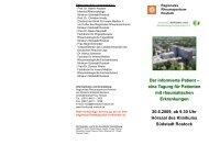 PDF-Flyer - Klinikum Südstadt Rostock
