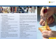 Flyer Diabetes, PDF-Version, ca 500 KB - Klinik Tettnang