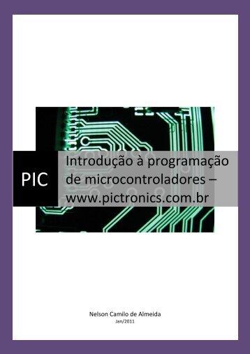 programação do curso de PIC para Tatui \(Salvo ... - Pictronics