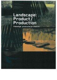 Page 1 Page 2 Landscape: Product/Production I I Paisatge ...