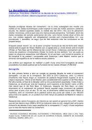 La decadència catalana - Deu Mil en Xarxa per l'Autodeterminació