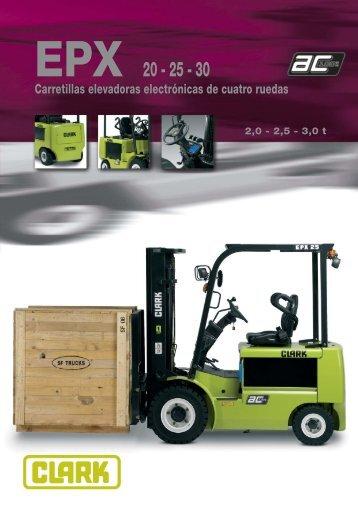 Catálogo EPX 20-25-30