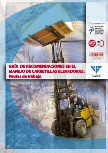 Guía de recomendaciones en el manejo de carretillas ... - CCOO