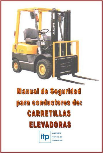 Manual de Conductores de Carretillas Elevadoras - Molicen