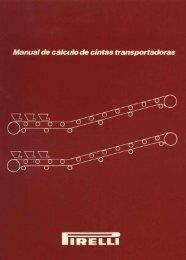 Manual de cálculo de cintas transportadoras - Martinez Gambino SRL