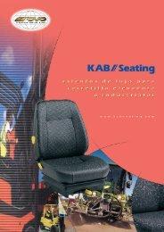 Asientos de Lujo Para Carretilla Elevadora e ... - KAB Seating