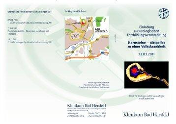 Urologie-FB 2011-02-09.cdr - Klinikum Bad Hersfeld GmbH