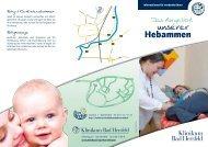 Hebammen-Angebote - Klinikum Bad Hersfeld GmbH