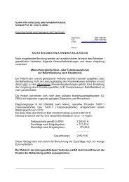 klinik für urologie und kinderurologie - Klinikum Bad Hersfeld GmbH