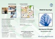Neurolog. Kolloquium 2006 - Klinikum Bad Hersfeld GmbH