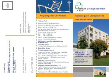 Urologische Klinik - Klinikum Fürth
