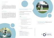 Ambulantes Operieren - Klinikum Ingolstadt