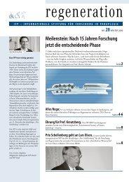 Meilenstein nach 15 Jahren Forschung - SRH Klinikum Karlsbad ...