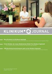 X213 110530 01 Klinikum Journal 1 2011 - Klinikum Ingolstadt