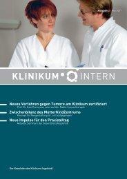 Ausgabe 2 | 2007 - Klinikum Ingolstadt