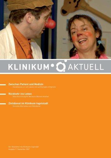 Ausgabe 9 | 2007 - Klinikum Ingolstadt