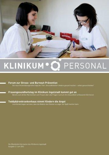 Klinikum Personal 2012-02 - Klinikum Ingolstadt