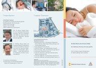 Schlaf-Atem-Zentrum - Städtisches Klinikum Karlsruhe